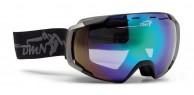 Demon Storm skibriller, mat sort