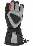 4F/Outhorn Hydropile herre skihandsker, sort/grå