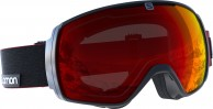 Salomon XT One goggles, sort/rød