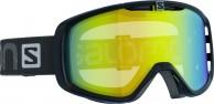 Salomon Aksium goggles, Blk/LoLight Light yello