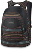 Dakine Womens Prom 25L, sort med striber