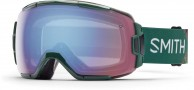 Smith Vice skibrille, Green Obscura/Blue Sensor Mirror