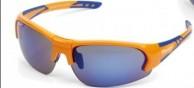 Demon Plus solbriller til cykling, Orange
