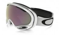 Oakley A Frame 2.0, Polished White, Prizm HI Pink Iridium