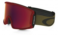 Oakley Line Miner, Red Burnished Iron, Prizm Torch Iridium