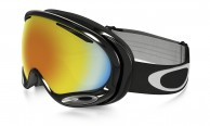 Oakley A Frame 2.0, Jet Black, Fire Iridium