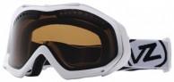 VonZipper Bushwick skibriller, White Gloss/bronze