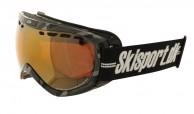 Demon Raptor skigoggle OTG, Carbon - Skisport.dk edition