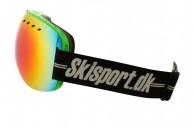 Demon Overview, skibriller, grøn - Skisport.dk edition