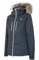4F Alma skijakke, grå, dame