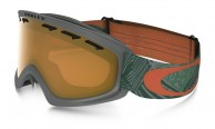 Oakley O2 XS, Geo Chaos Iron Green, Persimmon