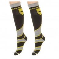 DIEL Ultra skistrømper - 2 par, gul