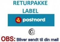 Returforsendelse/label til ombytning