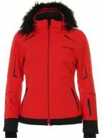 DIEL Celine skijakke, dame, rød