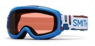 Smith Gambler Air jr skibrille, lyseblå