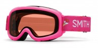 Smith Gambler Air jr skibrille, lyserød