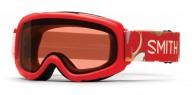 Smith Gambler Air jr skibrille, rød