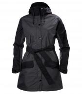 Helly Hansen W Lyness Coat, mørkgrå