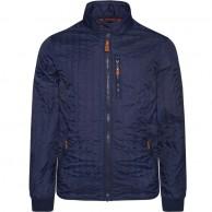 Weather Report Hubert, quiltet herre jakke, blå