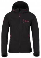Kilpi Elia, softshell jakke, dame, sort/pink