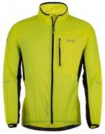 Kilpi Airrunner-M Overtræksjakke, gul, herre