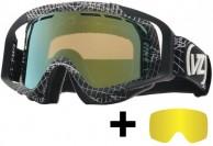 VonZipper Porkchop skibriller, Wire Frame/Astro Chrome