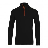Ortovox Merino Ultra Net Long Sleeve M, sort