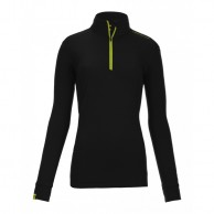 Ortovox Merino Ultra Net Long Sleeve W, sort