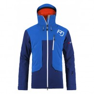 Ortovox 2L Swisswool Andermatt Jacket M, blå