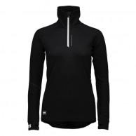 Mons Royale Checklist Hood LS, skiundertrøje, Black Birdseye