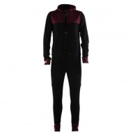 Mons Royale The Monsie One Piece, skiundertøj, Burgundy Black Birdseye