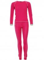 Typhoon uld skiundertøj, piger, pink