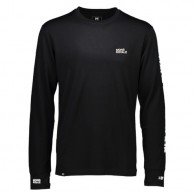 Mons Royale Original LS FWT, skiundertrøje, Black
