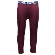 Mons Royale Shaun Off, skiunderbukser, Burgundy
