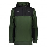 Mons Royale Transition Hoody, skitrøje, Forest Green