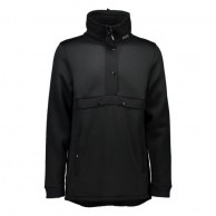 Mons Royale Transition Pullover, skitrøje, Black