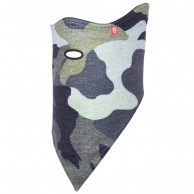 Airhole Facemask 2 Layer, camo