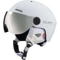 Cairn Eclipse Rescue, skihjelm med Visir, mat hvid