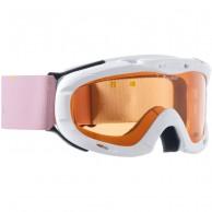 Alpina Ruby S, juniorskibrille, hvid/lyserød