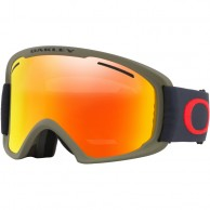 Oakley O2 XL, Canteen Iron, Fire Iridium