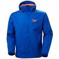 Helly Hansen Seven J, regnjakke mænd, blå