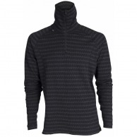 Ulvang 50Fifty 2.0 Turtle neck w/zip Ms, herrer, sort