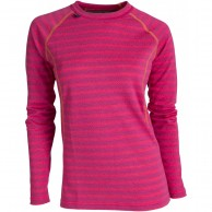 Ulvang 50Fifty 2.0 Round neck Ws, damer, beetroot