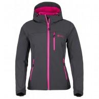Kilpi Elia, softshell jakke, kvinder, grå/pink