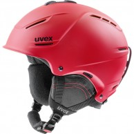 Uvex p1us 2.0 skihjelm, rød