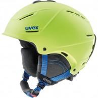 Uvex p1us 2.0 skihjelm, lime