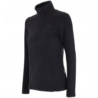 4F Microtherm fleecepulli, dame, sort