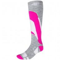 4F skistrømper, dame, pink