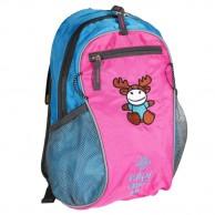 Kilpi First, børnerygsæk, lysblå/pink