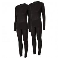 4F/Outhorn 2 sæt skiundertøj til damer, sort